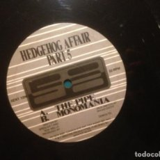 Discos de vinilo: HEDGEHOG AFFAIR PART 05 - SOUND ENTITY RECORDS – SENT 1206 - MAXI - 1994. Lote 221463527