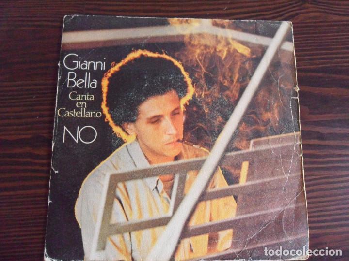 GIANNI BELLA - NO (EN ESPAÑOL) - CBS STEREO - 1979 (Música - Discos - Singles Vinilo - Pop - Rock - Extranjero de los 70)