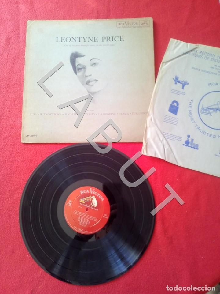 LEONTYNE PRICE ARIAS LM-2506 LP D4 (Música - Discos - LP Vinilo - Clásica, Ópera, Zarzuela y Marchas)