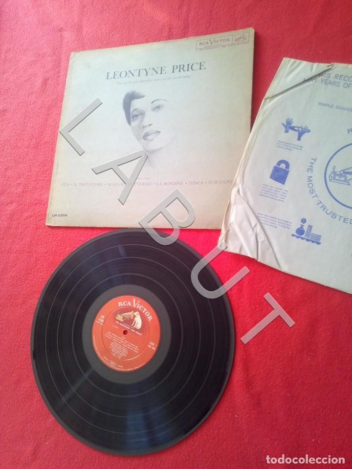 Discos de vinilo: LEONTYNE PRICE ARIAS LM-2506 LP D4 - Foto 2 - 221463732