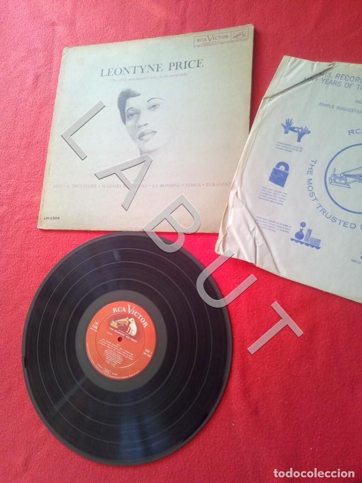 Discos de vinilo: LEONTYNE PRICE ARIAS LM-2506 LP D4 - Foto 3 - 221463732