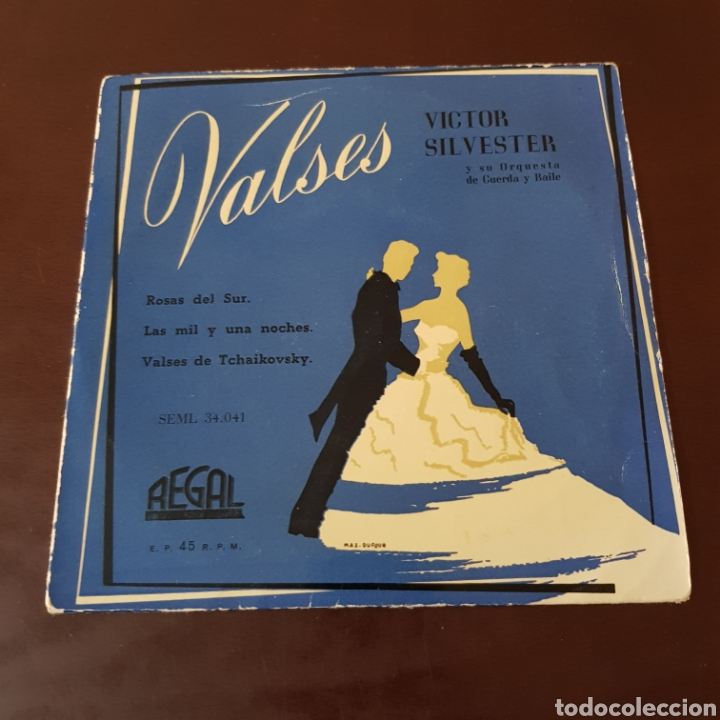 Discos de vinilo: VICTOR SILVESTER - VALSES - ROSAS DEL SUR - LAS MIL Y UNA NOCHES - VALSES DE TCHAIKOVSKY - REGAL - Foto 5 - 221464118