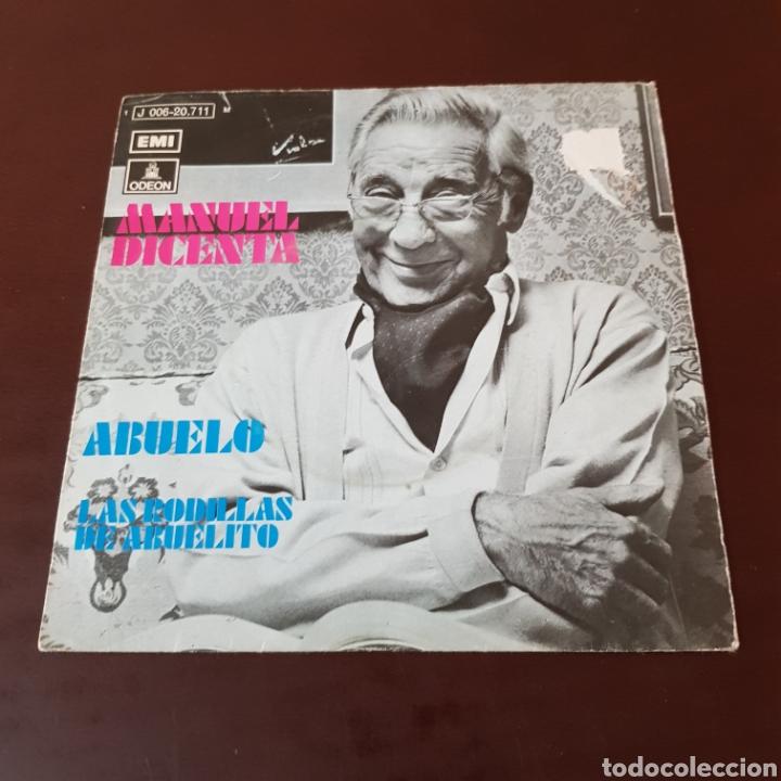 Discos de vinilo: MANUEL DICENTA - ABUELO - LAS RODILLAS DE ABUELITO - Foto 5 - 221464295