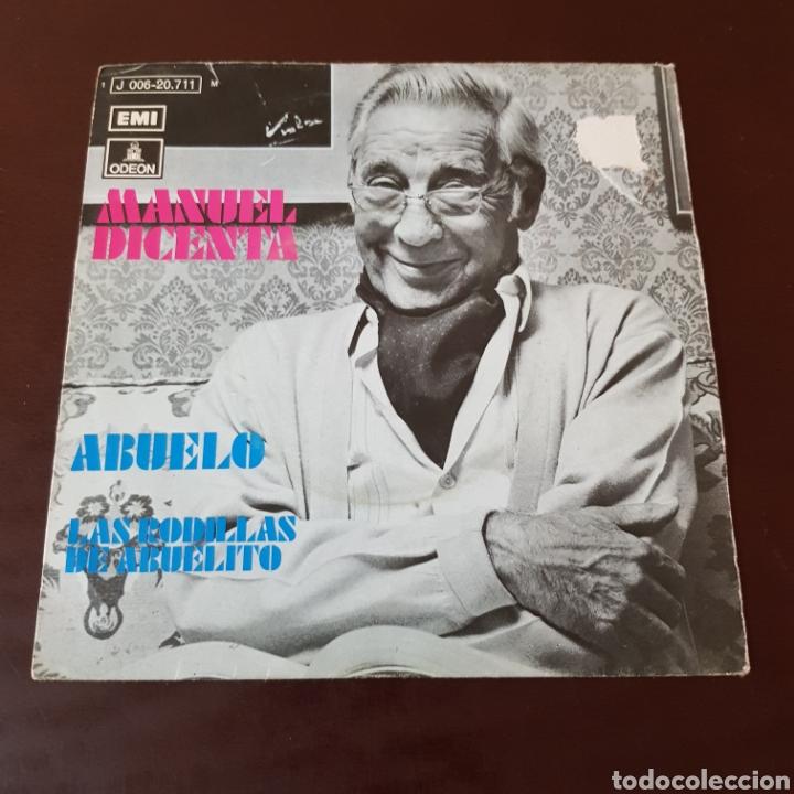 MANUEL DICENTA - ABUELO - LAS RODILLAS DE ABUELITO (Música - Discos - Singles Vinilo - Solistas Españoles de los 70 a la actualidad)