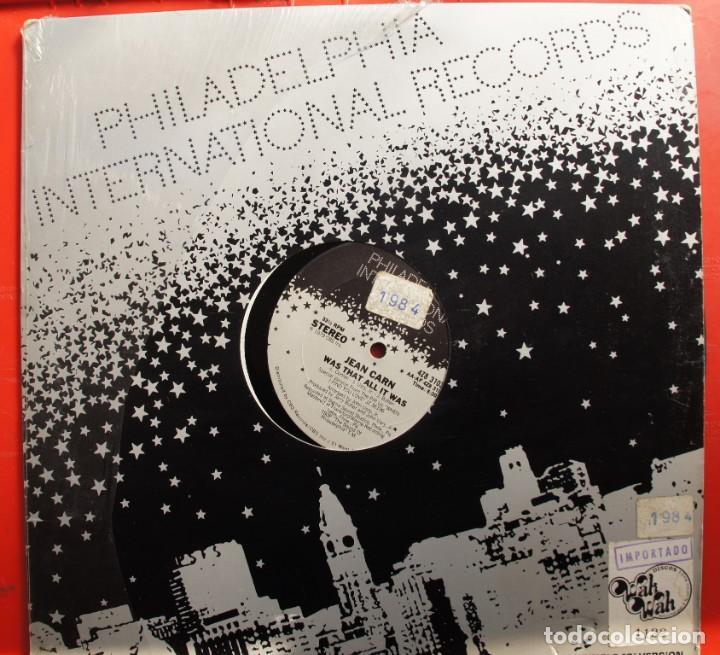DISCO DE VINILO- JEAN CARN -WAS THAT ALL IT WAS (Música - Discos - LP Vinilo - Otros estilos)