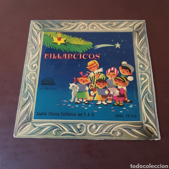 Discos de vinilo: VILLANCICOS POPULARES - CAPILLA CLADICA POLIFONICA DEL F. A. D. - Foto 5 - 221464941