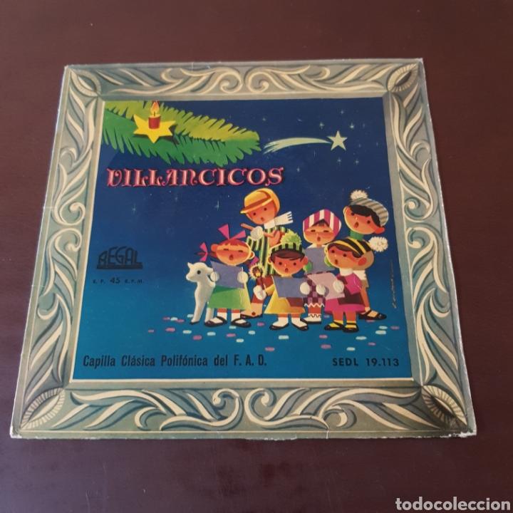 VILLANCICOS POPULARES - CAPILLA CLADICA POLIFONICA DEL F. A. D. (Música - Discos - Singles Vinilo - Otros estilos)