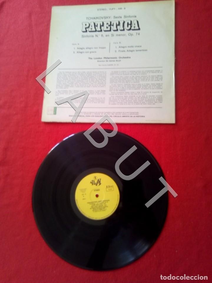 Discos de vinilo: TCHAIKOVSKY SEXTA SINFONIA PATÉTICA ADRIAN BOULT LP D4 - Foto 2 - 221464990