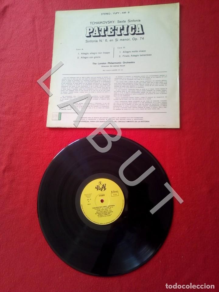 Discos de vinilo: TCHAIKOVSKY SEXTA SINFONIA PATÉTICA ADRIAN BOULT LP D4 - Foto 3 - 221464990