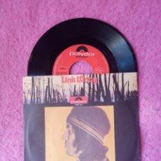 Discos de vinilo: SINGLE LINK WRAY - FIRE AD BRIMSTONE / JUKE BOX MAMA - 2066 120 - GERMANY PRESS (EX/NM). Lote 221467975