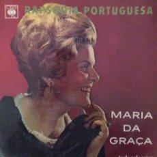 Discos de vinilo: MARIA DA GRAÇA - RAPSÓDIA PORTUGUESA - CBS 37519 - 1967 - EDICIÓN BRASILEÑA. Lote 221467453