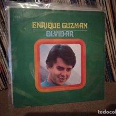 Discos de vinilo: ENRIQUE GUZMAN AYER TE VI/OLVIDAR 7'' SINGLE 1970 CBS ESPAÑA SPAIN. Lote 221475180
