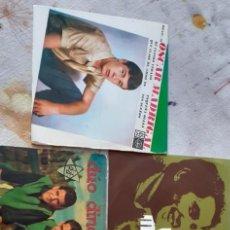 Discos de vinilo: PACK 5 SINGLES ANTIGUOS RAFAEL,VÍCTOR MANUEL,DÚO DINÁMICO,ETC. Lote 221475185