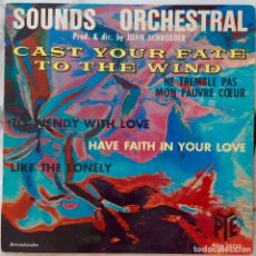 Discos de vinilo: SOUNDS ORCHESTRAL. CAST YOUR FATE TO THE WIND + 3. EP UK. Lote 221475778
