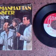 Discos de vinilo: THE MANHATTAN TRANSFER - CUENTAME - SINGLE - SPAIN - HISPAVOX - L -. Lote 221482312