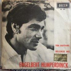 Discos de vinilo: ENGELBERT HUMPERDINCK TEN GUITARS. Lote 221484362
