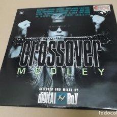 Discos de vinilo: DIGITAL BOY (LP) CROSSOVER MEDLEY AÑO 1993 – DOBLE MAXI – EDICION ITALIA. Lote 221484656