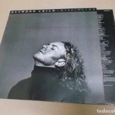 Discos de vinilo: DESMOND CHILD (LP) DISCIPLINE AÑO 1991 – ENCARTE CON LETRAS. Lote 221484761