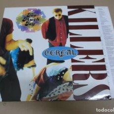Discos de vinilo: TOO MUCH JOY (LP) CEREAL KILLERS AÑO 1991 – ENCARTE CON LETRAS - IMPORTACION. Lote 221485112