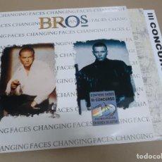 Discos de vinilo: BROS (LP) CHANGING FACES AÑO 1991. Lote 221485973