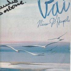 Discos de vinilo: 45 T NINO D'ANGELO VAI 36 O FESTIVAL DELLA CANZONE ITALIANA COVER ONWR ITALY. Lote 221488298