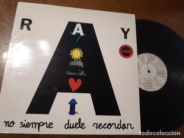 RAY - NO SIEMPRE DUELE RECORDAR - MAXI- ESPAÑA 1993 (Música - Discos de Vinilo - Maxi Singles - Grupos Españoles de los 90 a la actualidad)