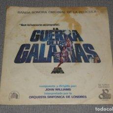 Discos de vinilo: LA GUERRA DE LAS GALAXIAS BANDA SONORA ORIGINAL MOVIEPLAY 1977. Lote 221501433
