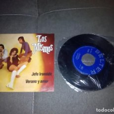 Discos de vinilo: LOS MISMOS / JEFE IRONSIDE / SINGLE 45 RPM /BELTER. Lote 221502260