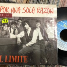 Discos de vinilo: EL LIMITE SINGLE POR UNA SOLA RAZON. Lote 221504506