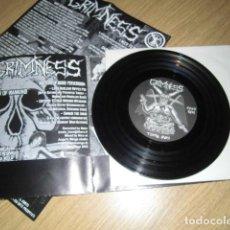 Discos de vinilo: GRIMNESS / VISCERA SPLIT EP GRIND. Lote 221506697