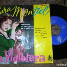 Discos de vinilo: SARA MONTIEL / ROSA DE MADRID / EP 45 RPM / HISPAVOX. Lote 221509616