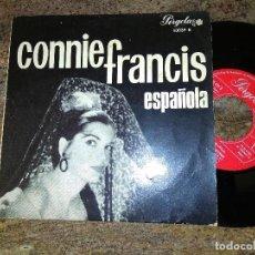 Discos de vinilo: CONNIE FRANCIS / ESPAÑOLA / EP 45 RPM / PERGOLA. Lote 221509793