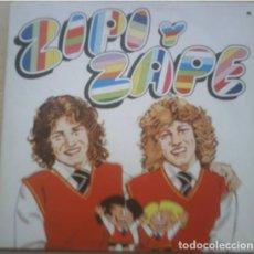 Discos de vinilo: ZIPI Y ZAPE - LP SPAIN 1981 (PORTADA DOBLE CON VIÑETA EN EL INTERIOR). Lote 221512100