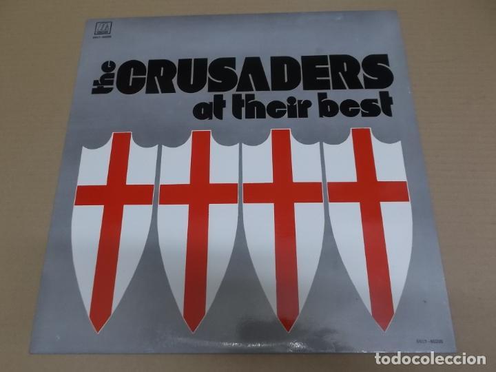 THE CRUSADERS (LP) AT THEIR BEST AÑO 1973-1985 (Música - Discos - LP Vinilo - Funk, Soul y Black Music)