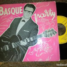Disques de vinyle: J.A.VILLAR / BASQUE PARTY / 45 RPM / GOIZTIRI. Lote 221512318