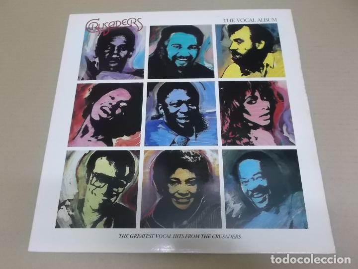 THE CRUSADERS (LP) THE VOCAL ALBUM AÑO 1987 (Música - Discos - LP Vinilo - Funk, Soul y Black Music)
