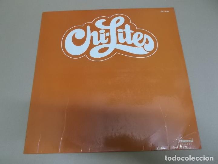 THE CHI-LITES (LP) CHI-LITES AÑO 1973 – EDICION PROMOCIONAL (Música - Discos - LP Vinilo - Funk, Soul y Black Music)