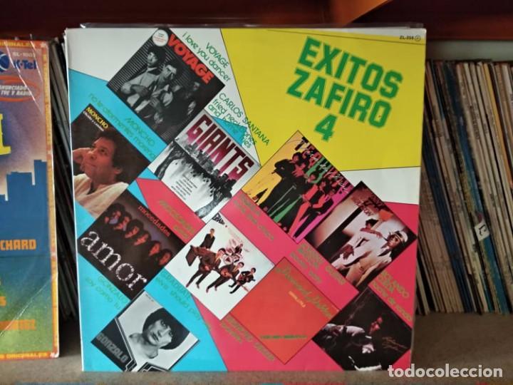 EXITOS ZAFIRO VOL 4 - TEQUILA, VOYAGE, GONZALO... (Música - Discos - LP Vinilo - Otros estilos)