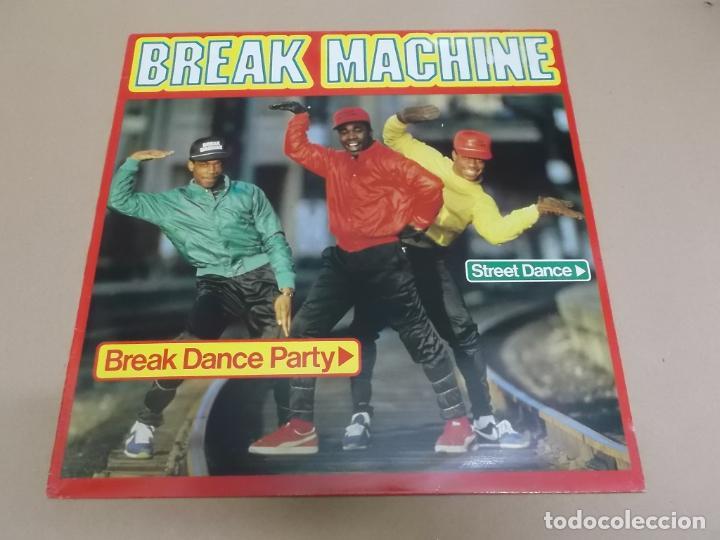 BREAK MACHINE (LP) BREAK DANCE PARTY AÑO 1984 (Música - Discos - LP Vinilo - Rap / Hip Hop)