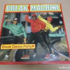 Discos de vinilo: BREAK MACHINE (LP) BREAK DANCE PARTY AÑO 1984. Lote 221512573
