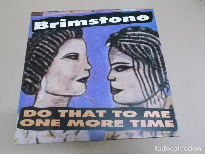 BRIMSTONE (LP) DO THAT TO ME ONE MORE TIME AÑO 1988 (Música - Discos - LP Vinilo - Reggae - Ska)