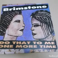 Discos de vinilo: BRIMSTONE (LP) DO THAT TO ME ONE MORE TIME AÑO 1988. Lote 221512621