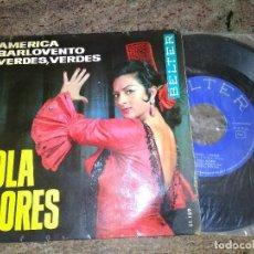 Discos de vinilo: LOLA FLORES / AMERICA / EP 45 RPM / BELTER. Lote 221512795
