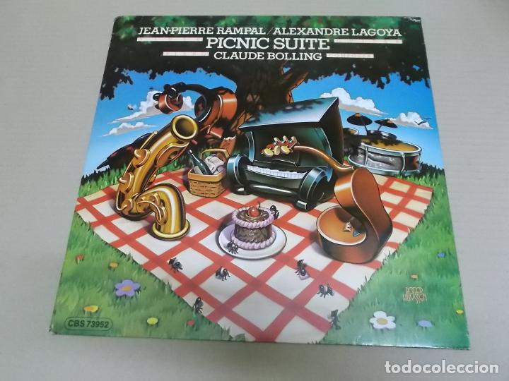 CLAUDE BOLLING (LP) PICNIC SUITE AÑO 1990 – EDICION HOLANDA (Música - Discos - LP Vinilo - Jazz, Jazz-Rock, Blues y R&B)