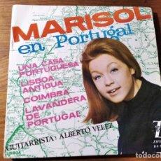 Disques de vinyle: MARISOL - EN PORTUGAL ********** RARO EP ESPAÑOL 1964, BUEN ESTADO. Lote 221513296