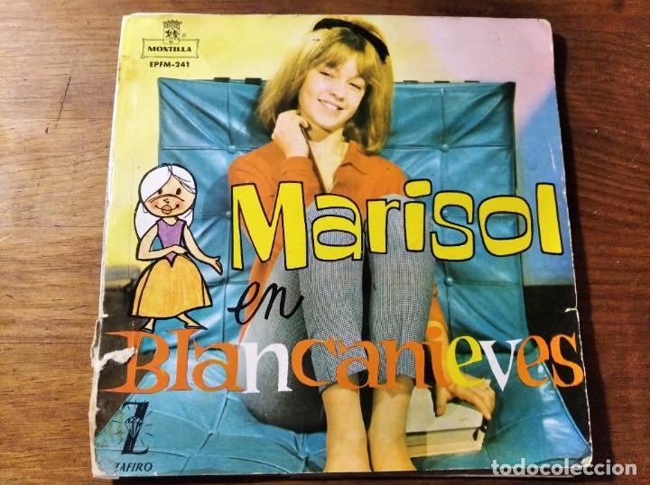 MARISOL - EN BLANCANIEVES ********** RARO EP ESPAÑOL 1962, CON LIBRETO, VINILO DE COLORES (Música - Discos de Vinilo - EPs - Solistas Españoles de los 50 y 60)