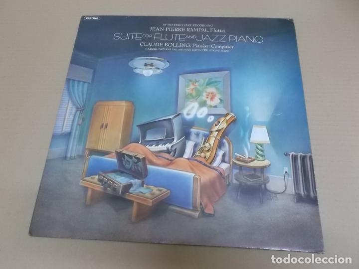 CLAUDE BOLLING (LP) SUITE FOR FLAUTE AND JAZZ PIANO AÑO 1975 – EDICION HOLANDA (Música - Discos - LP Vinilo - Jazz, Jazz-Rock, Blues y R&B)