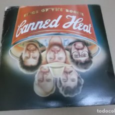 Discos de vinilo: CANNED HEAT (LP) KINGS OF THE BOOGIE AÑO 1983. Lote 221514351