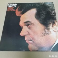 Discos de vinilo: CONWAY TWITTY (LP) SHEEDS SOMEONE TO HOLD HER (WHEN SHE CRIES) AÑO 1972 – EDICION U.S.A.. Lote 221514547