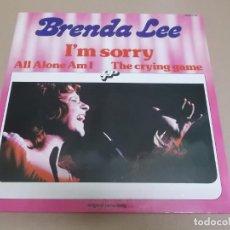 Discos de vinilo: BRENDA LEE (LP) I'M SORRY AÑO 1975 – PORTADA ABIERTA – EDICION BELGA. Lote 221514862